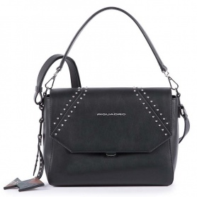 Piquadro Muse Damen-Rocktasche schwarz - BD4632MU / N2