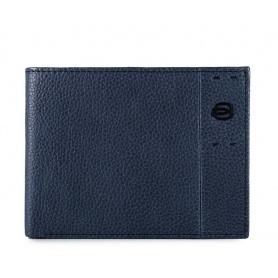 Wallet man Piquadro P15S blue night P1392P15S / BLU2