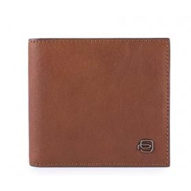 Wallet man Piquadro Black Square PU1666B3R / CU leather