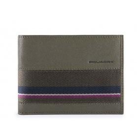 Man wallet Piquadro B3SR night blue PU257B3SR / VE