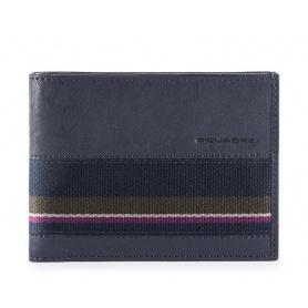 Man wallet Piquadro B3SR night blue PU1392B3SR / BLU3