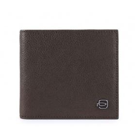 Portafoglio Piquadro Black Square marrone PU1666B3R/TM