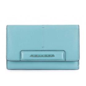 Piquadro Splash women's wallet bluePD4152SPLR / AZSA