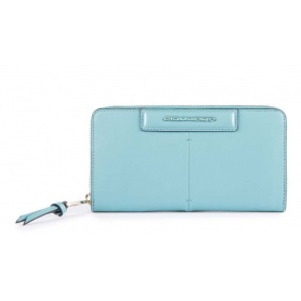 Piquadro Splash women's wallet bluePD1515SPLR / AZSA