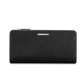 Piquadro women's wallet Blue Square black PD4573B2R / N
