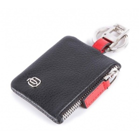 Piquadro Splash keyring black / red - PC4570SPL / NR