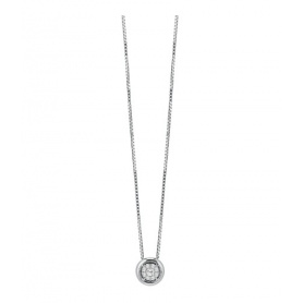 Salvini necklace round pendant with Daphne diamonds 20077052