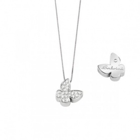 Necklace Salvini Farfalla Signs with diamonds - 20067608