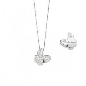 Necklace Salvini Farfalla Signs with diamonds - 20067608