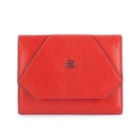 Portafoglio donna Piquadro Muse rosso - PD4145MUR/R