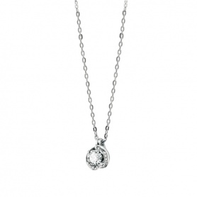 Salvini necklace with round diamond Abbraccio 20062773