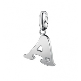 Salvini pendant in silver with diamond A - 20077293