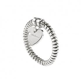 Anello Salvini cuore con diamante pendente - 20069033