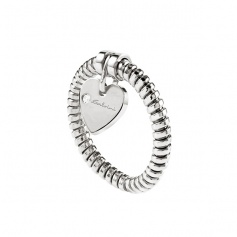 Salvini heart ring with pendant diamond - 20069033