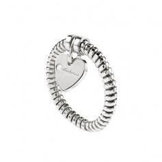 Salvini heart ring with pendant diamond - 20076913