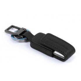 Portachiavi con chiavetta Piquadro B3 nero - AC4246B3/N