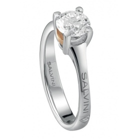 Salvini ring with solitaire diamond Battito - 20074772