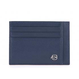 Piquadro Splash blue card holder - PP2762SPLR / BLBL
