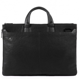 Expandable briefcase Piquadro B3 black - CA4598B3 / N