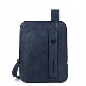 Small man bag Piquadro small P15S blue CA3084P15S / BLU2