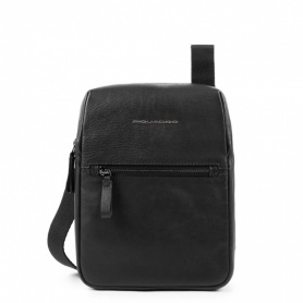 Man bag Piquadro Line black shoulder strap - CA4481W89 / N