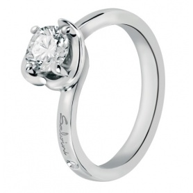 Salvini ring with solitaire diamond Abbraccio 20062769