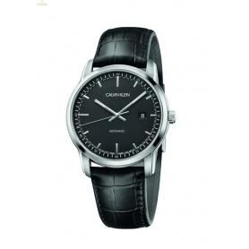 CALVIN KLEIN Infinite Too Watch Black leather strap - K5S341CZ