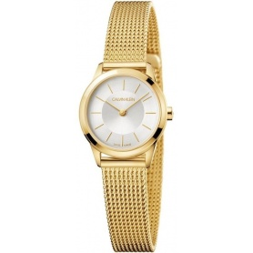 Calvin Klein Minimal PVD Lady Watch - K3M23526