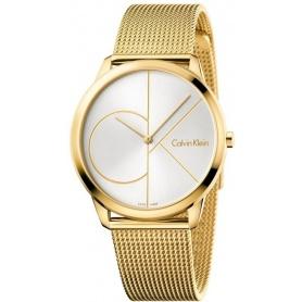 Calvin Klein Minimal Gent watch - PVD Logo CK - K3M21526