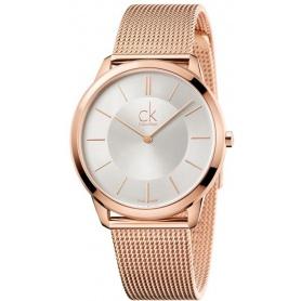 Calvin Klein Minimal Gent watch - PVD - K3M21626