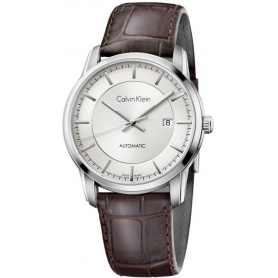 Calvin Klein Infinite Uhr Automatik Leder K5S341G6