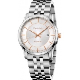 Calvin Klein Infinite Automatic steel watch K5S34B46