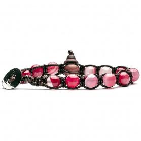 Tamashii Agate - Armband mit Streifenmuster - BHS900-156