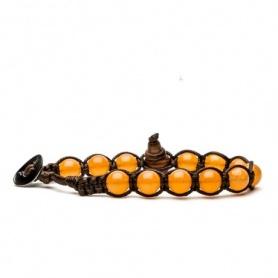 Tamashii Orange Jade Armband - BHS900-207