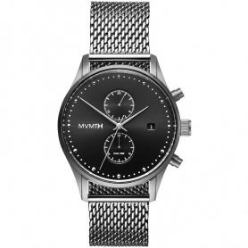 Watch MVMT Crono Voyager Milanese shirt silver - MV01-S2