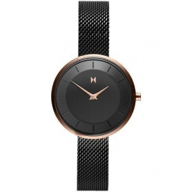 MVMT Mod R83 watch in Milan black and gold - FB01-BL
