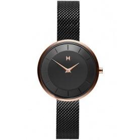 Orologio MVMT Mod R83 maglia milano nero ed oro - FB01-BL