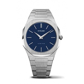 Watch D1 Milano line Ultra Thin octagonal Blue dial