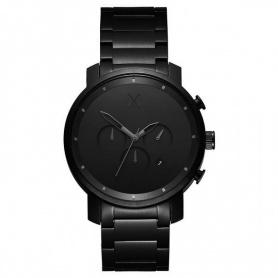 Uhr MVMT Chrono Black Link schwarz 45mm