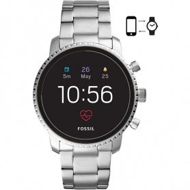 Smartwatch Fossil Gen 4 Q Explorist HR polierter Stahl