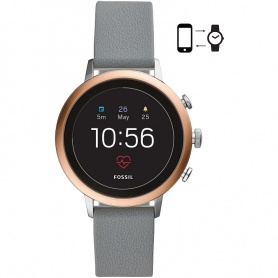 Fossil Watch Smart Fossil Amoled leather gray - FTW6016