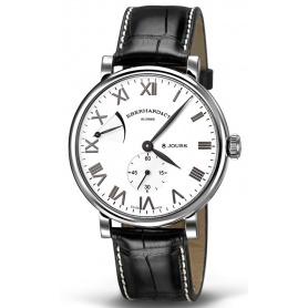 Eberhard 8Jours Grand Taille steel watch - 21027CP