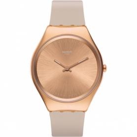 Orologio Swatch Skin Skinrosee silicone cipria e cassa rose gold