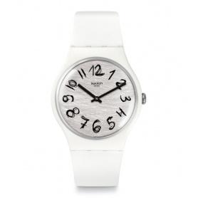 Orologio Swatch Worldhood Gesso bianco silicone - SUOW153