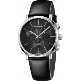 CALVIN KLEIN Posh Chrono watch black - K8Q376G6