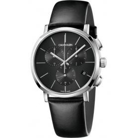 CALVIN KLEIN Posh Chrono watch black - K8Q376G6