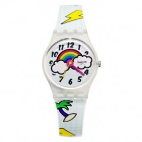 Orologio Swatch School Break arcobaleno e fantasia pop - LW160