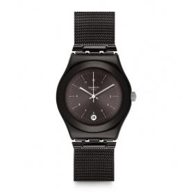 Orologio Swatch Neronero maglia milano Irony black - YLB403M