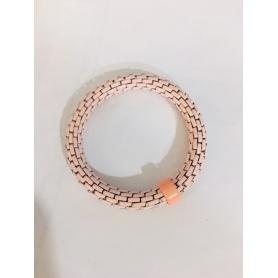 Bracciale donna Siridis elastico rosa