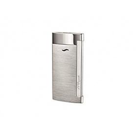 Dupont Feuerzeug Slim7 Linienfarbe silber satiniert - 027701